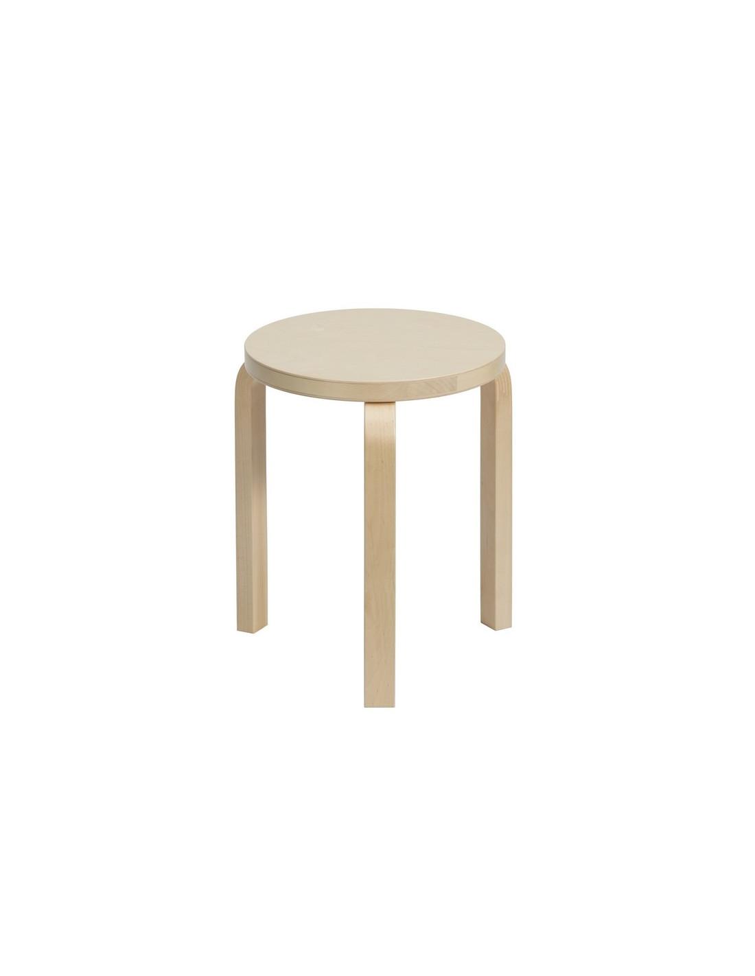 tabouret 60 design alvar aalto pour artek la boutique danoise. Black Bedroom Furniture Sets. Home Design Ideas