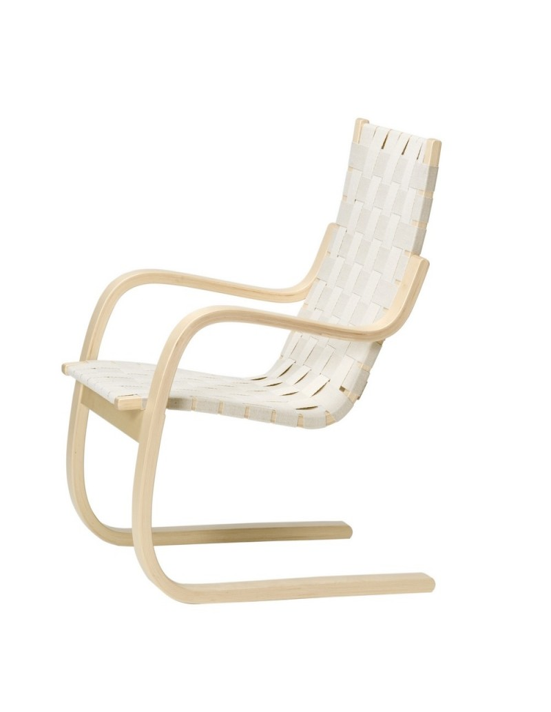 fauteuil 406 du designer alvar aalto pour artek fauteuil scandinave. Black Bedroom Furniture Sets. Home Design Ideas