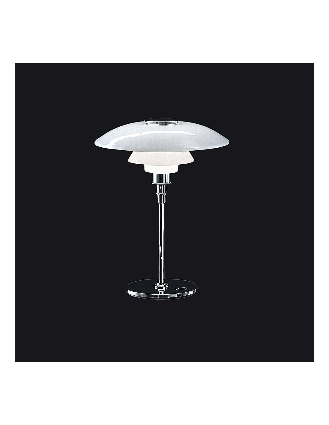 lampe de table ph 3 2 de poul henningsen pour louis poulsen la boutique danoise. Black Bedroom Furniture Sets. Home Design Ideas