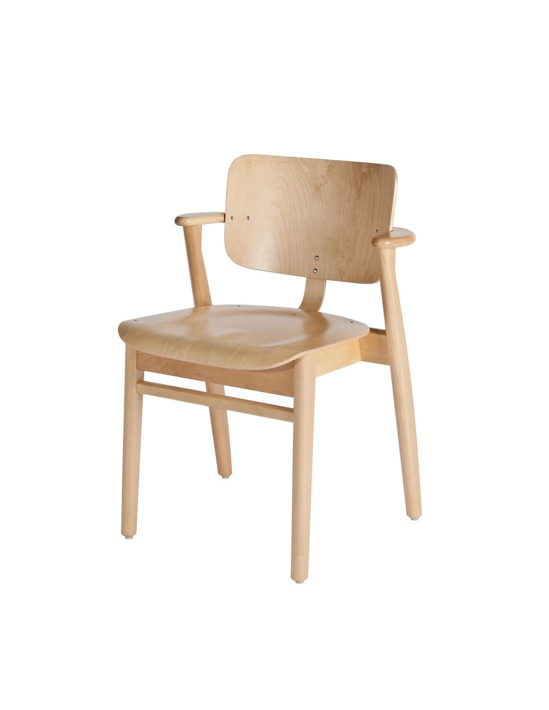 Chaise domus design ilmari tapiovaara pour artek la boutique danoise - Chaise danoise design ...
