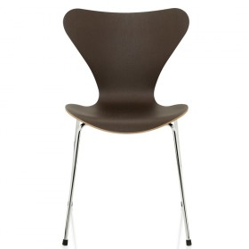 chair arne jacobsen fritz hansen serie 7 dark oak