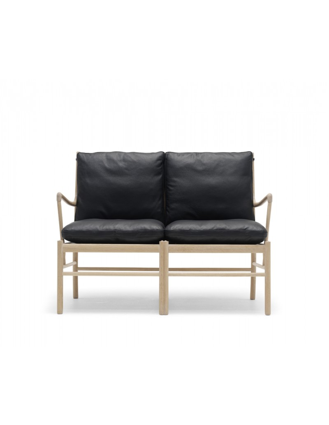 colonial sofa wanscher ole for carl hansen scandinavian design. Black Bedroom Furniture Sets. Home Design Ideas