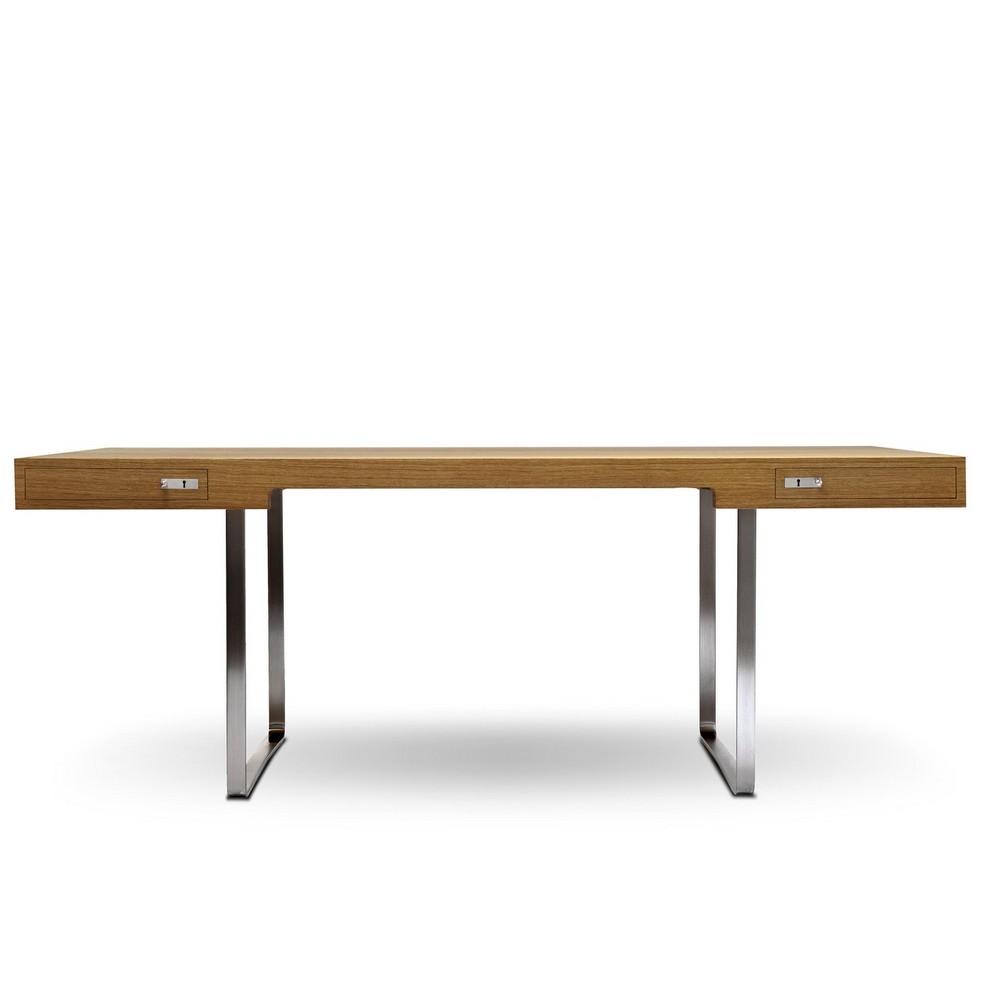 table de bureau treteaux bureau darchitecte en bois personnalisable tradition table pi bureau. Black Bedroom Furniture Sets. Home Design Ideas