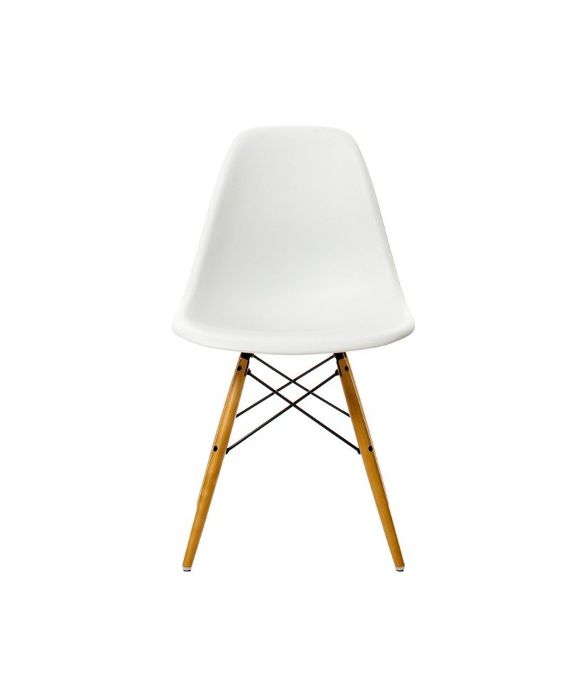 Chaise dsw charles ray eames pour vitra for Vitra replica