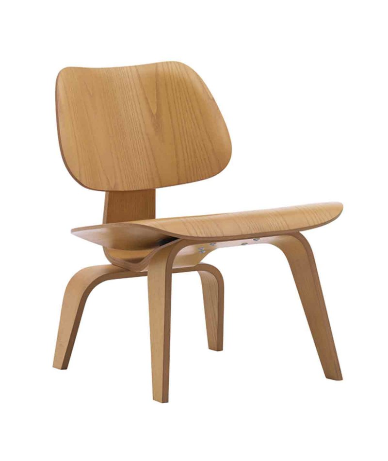 Plywood lounge chair lcw group charles and ray eames for vitra for Charles eames lounge chair nachbildung
