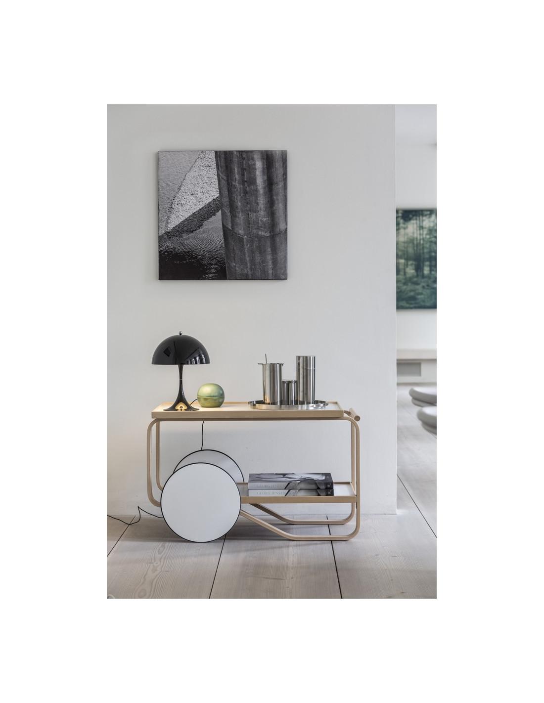 lampe de table mini panthella verner panton pour louis poulsen. Black Bedroom Furniture Sets. Home Design Ideas