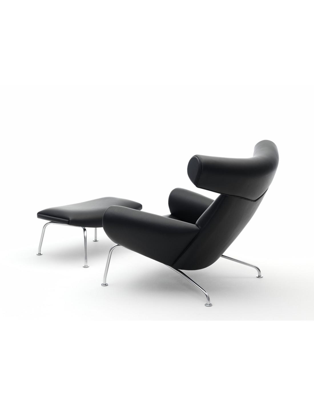 fauteuil boeuf ou ox chair design hans wegner pour erik. Black Bedroom Furniture Sets. Home Design Ideas