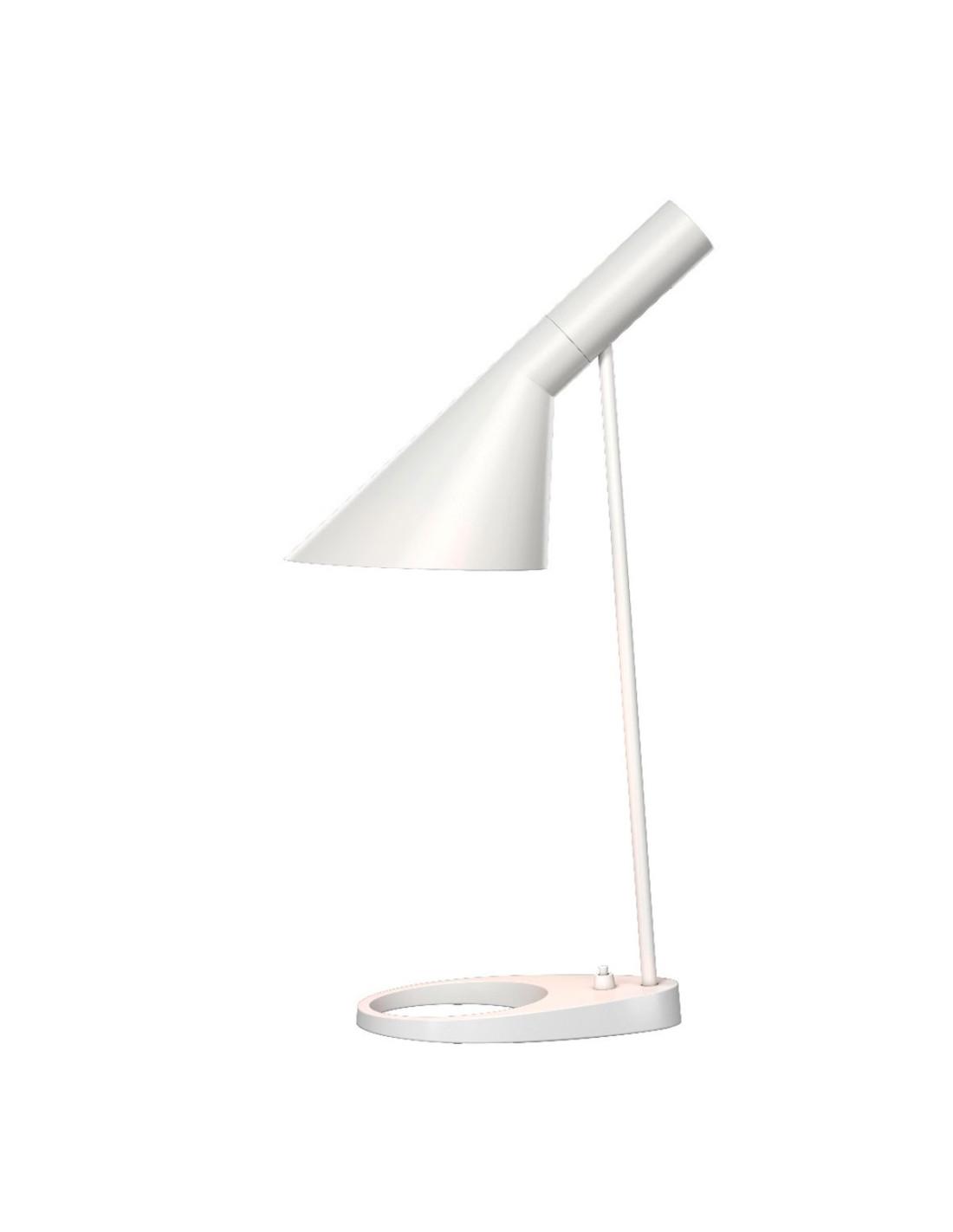 lampe de table aj design arne jacobsen pour louis poulsen la boutique danoise. Black Bedroom Furniture Sets. Home Design Ideas