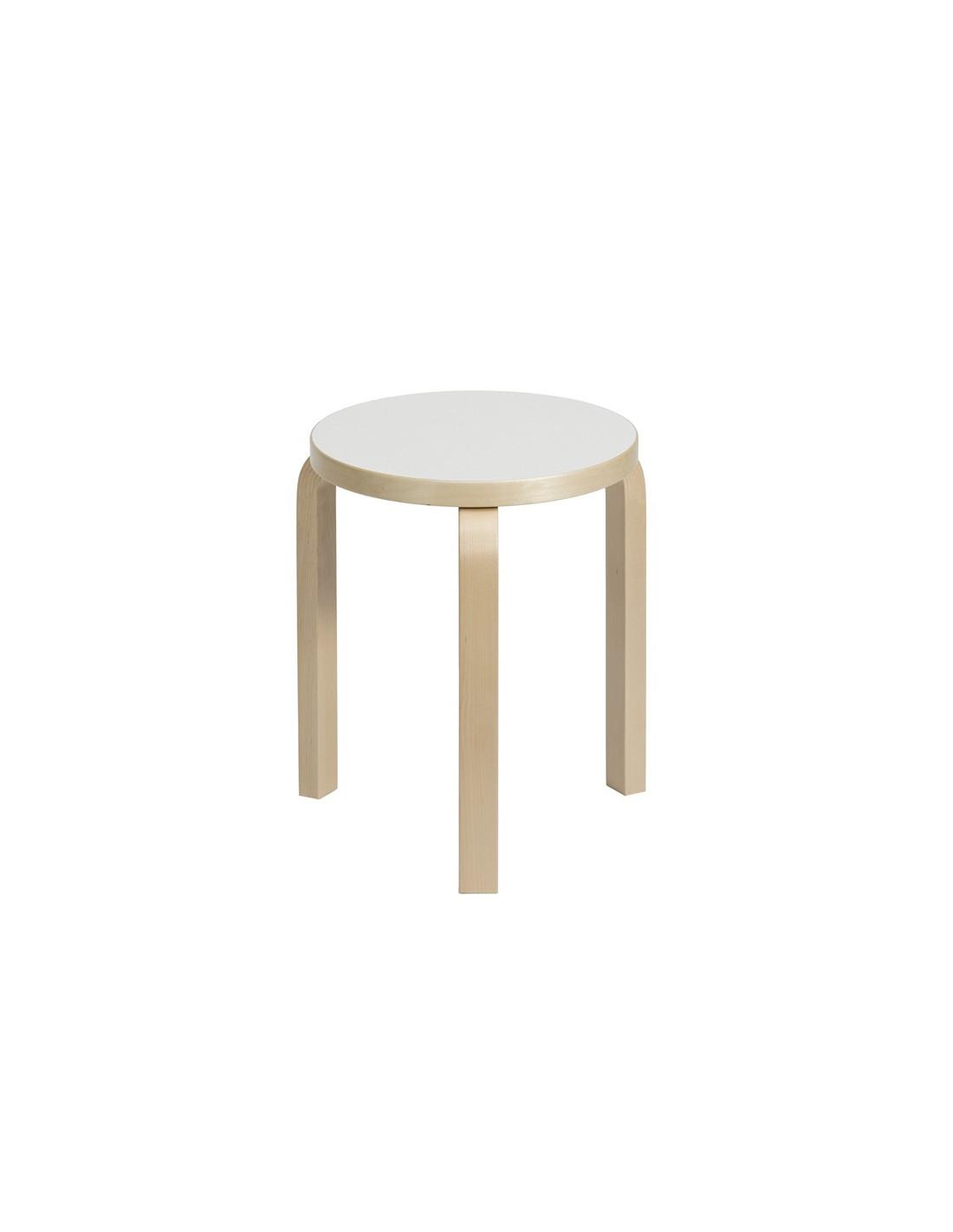 Tabouret 60 Design Alvar Aalto Pour Artek La Boutique Danoise