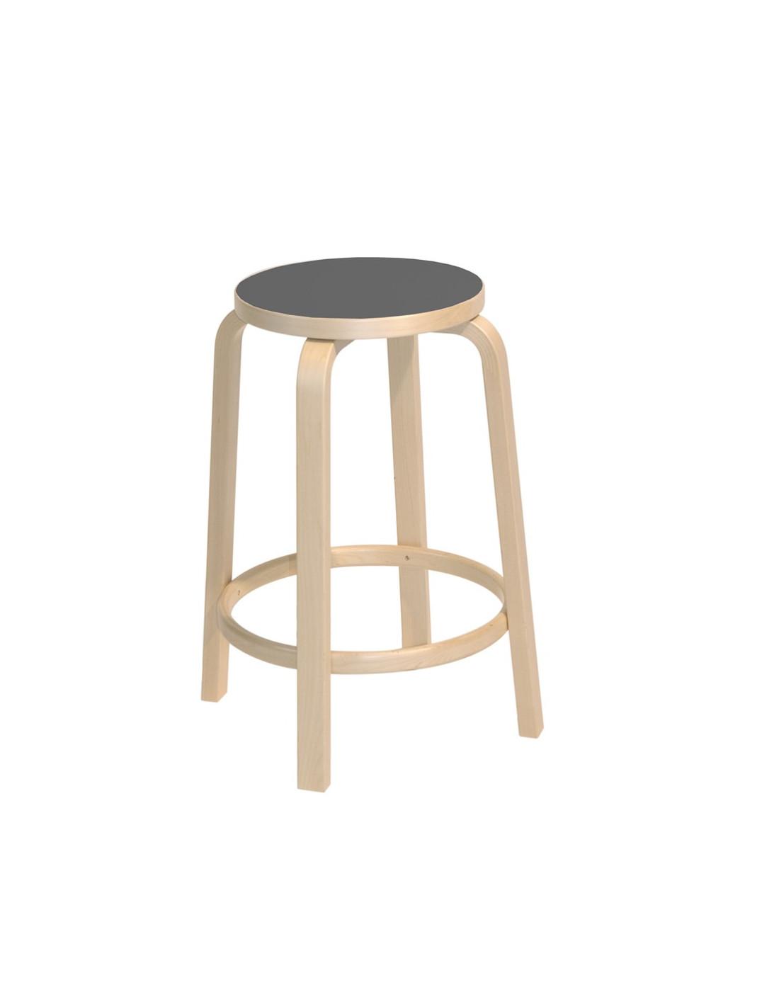 Tabouret De Bar 64 Design Alvar Aalto Pour Artek La Boutique Danoise