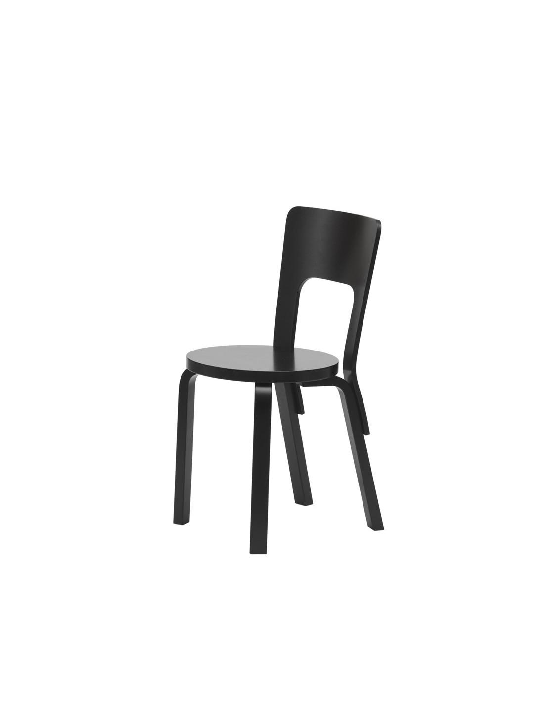 Chair 66 alvar aalto design for artek la boutique danoise for Chaise 66 alvar aalto