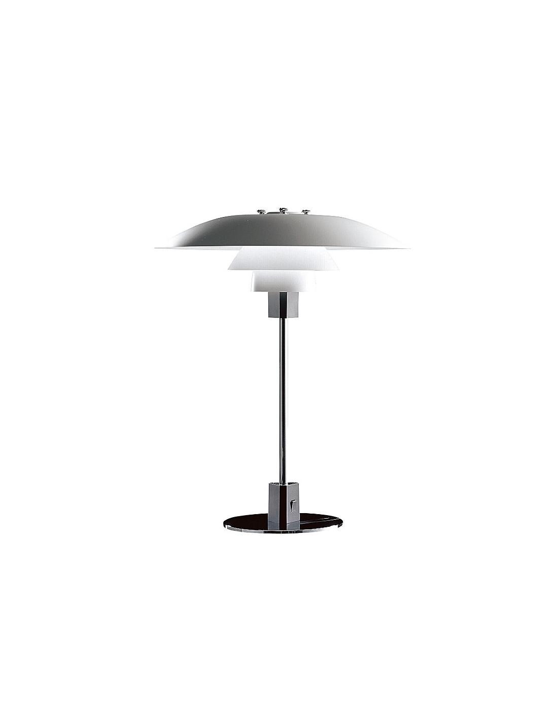lampe de table ph 4 3 design poul henningsen pour louis poulsen la boutique danoise. Black Bedroom Furniture Sets. Home Design Ideas