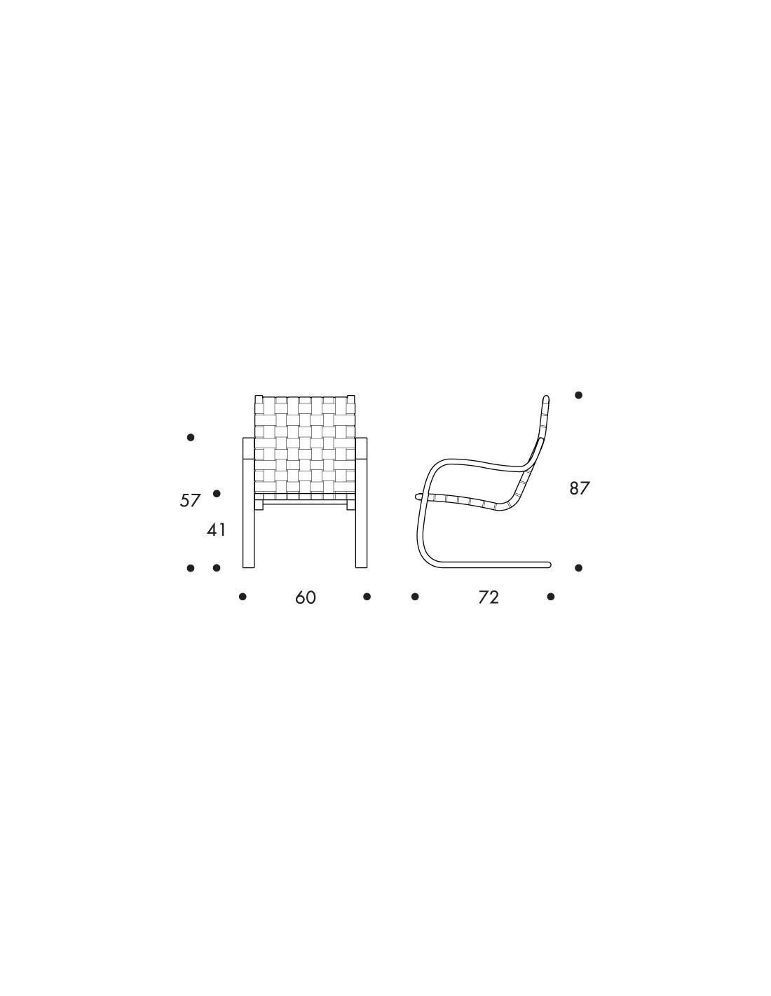 Armchair 406 Alvar Aalto Design For Artek Finnish Chair