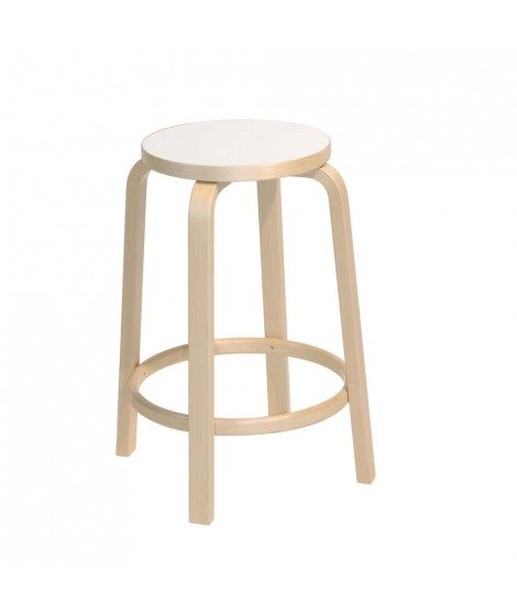 Marvelous Bar Stool 64 Designed By Alvar Aalto For Artek La Boutique Danoise Gmtry Best Dining Table And Chair Ideas Images Gmtryco