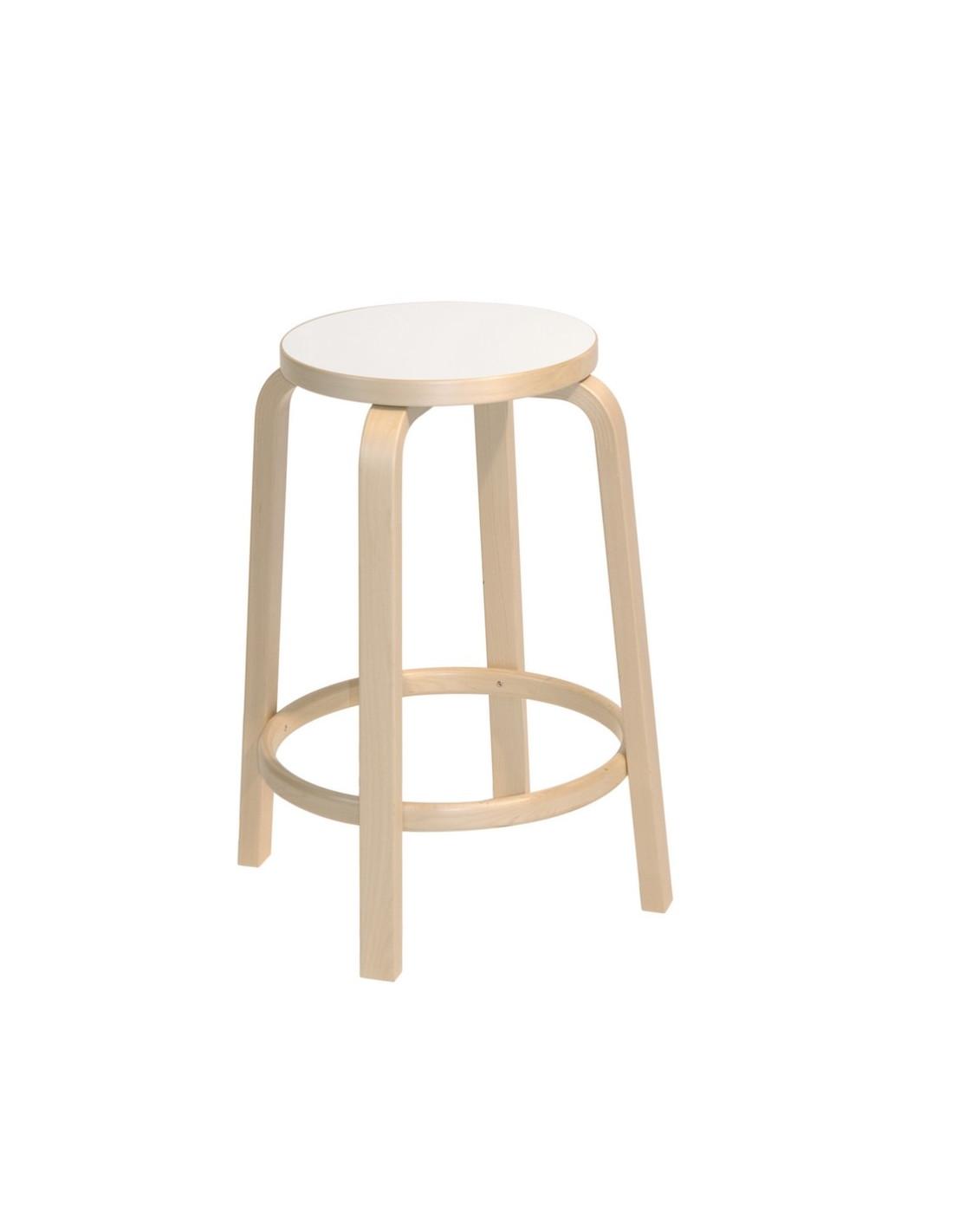 Tabouret De Bar 64 Design Alvar Aalto Pour Artek La