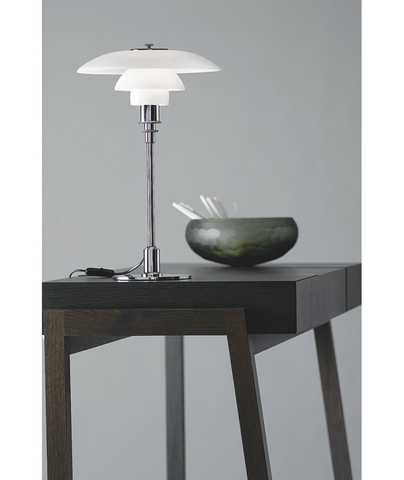 lampe de table ph 3 2 de poul henningsen pour louis poulsen la boutique danoise. Black Bedroom Furniture Sets. Home Design Ideas