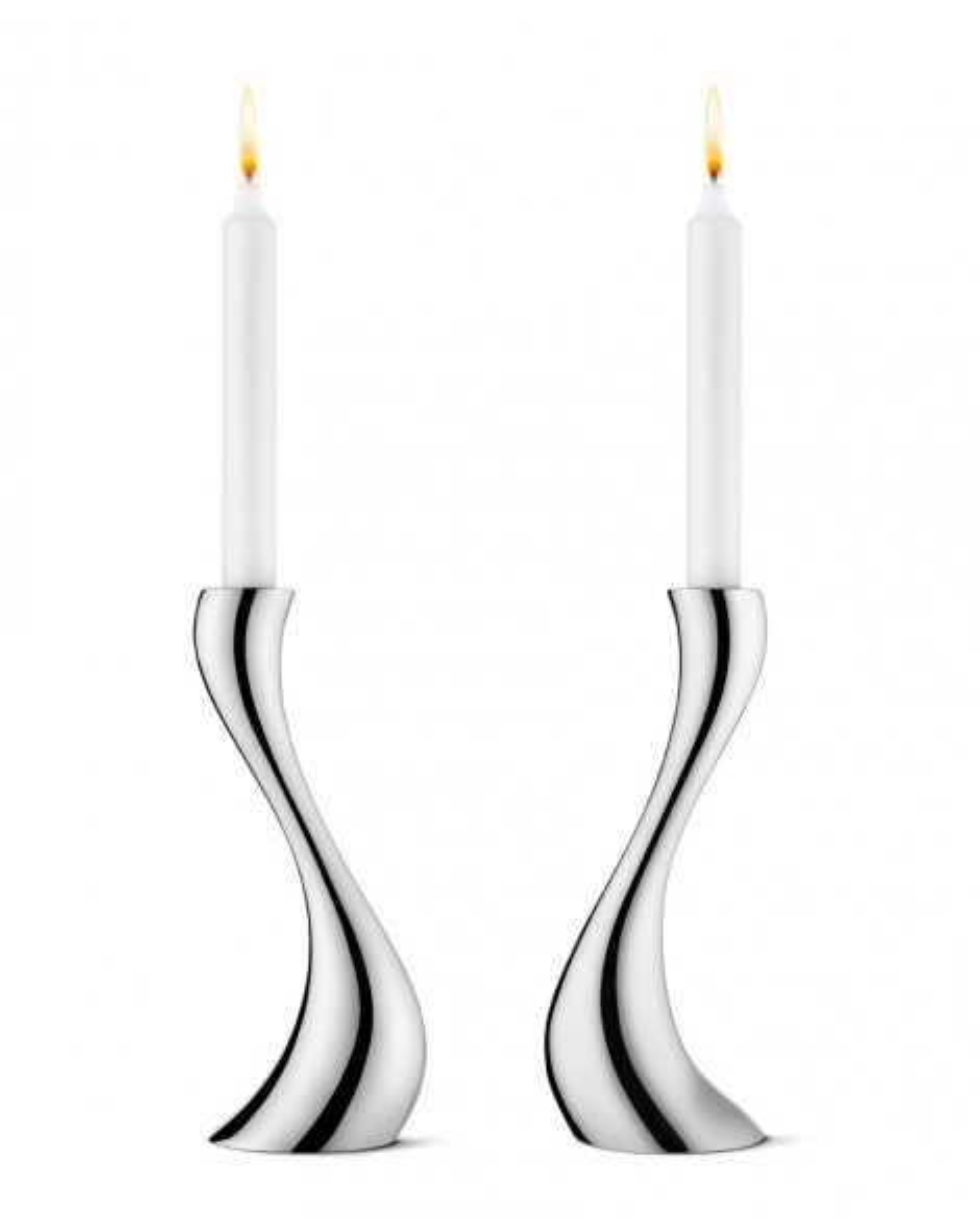 Cobra Candlesitcks Georg Jensen