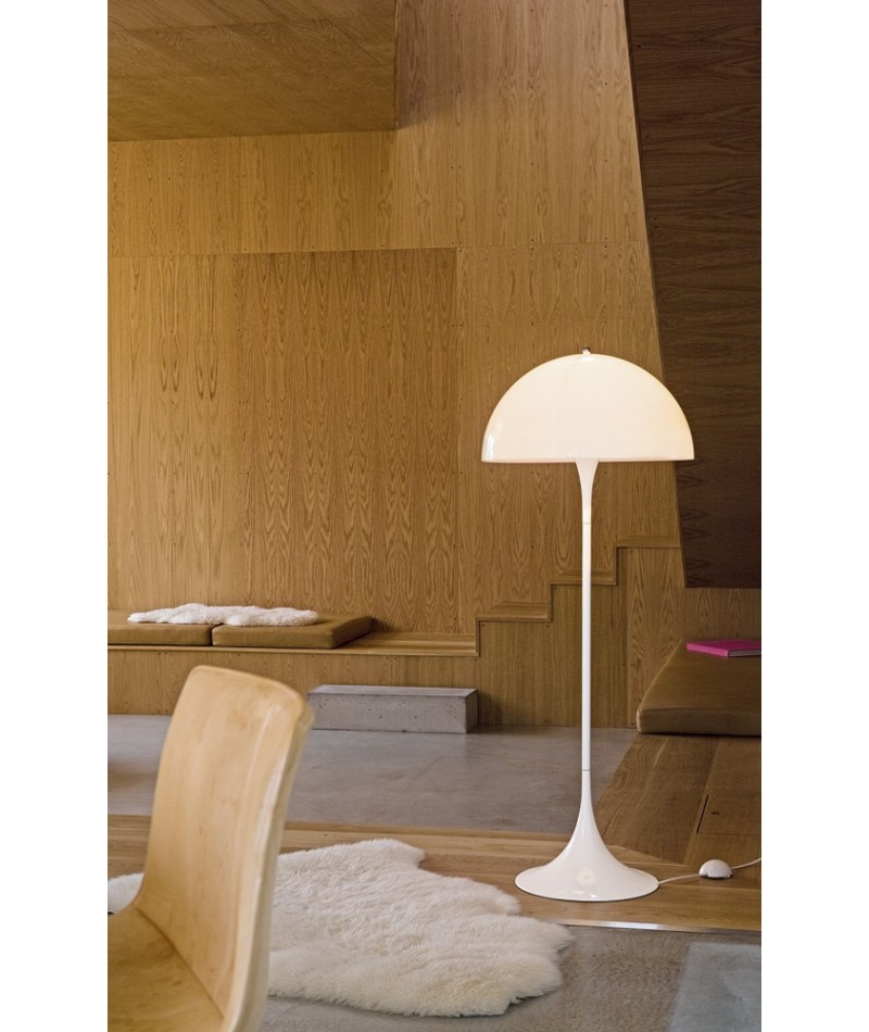 lampadaire panthella design verner panton pour louis poulsen la boutique danoise. Black Bedroom Furniture Sets. Home Design Ideas