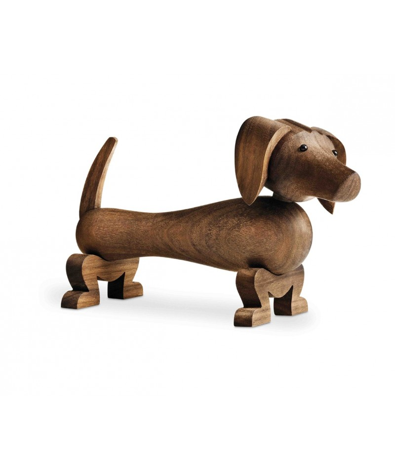 Wooden Dog Sculpture By Kay Bojesen La Boutique Danoise