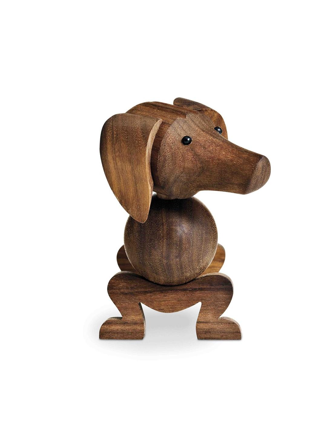 Wooden Dog Sculpture By Kay Bojesen La Boutique Danoise