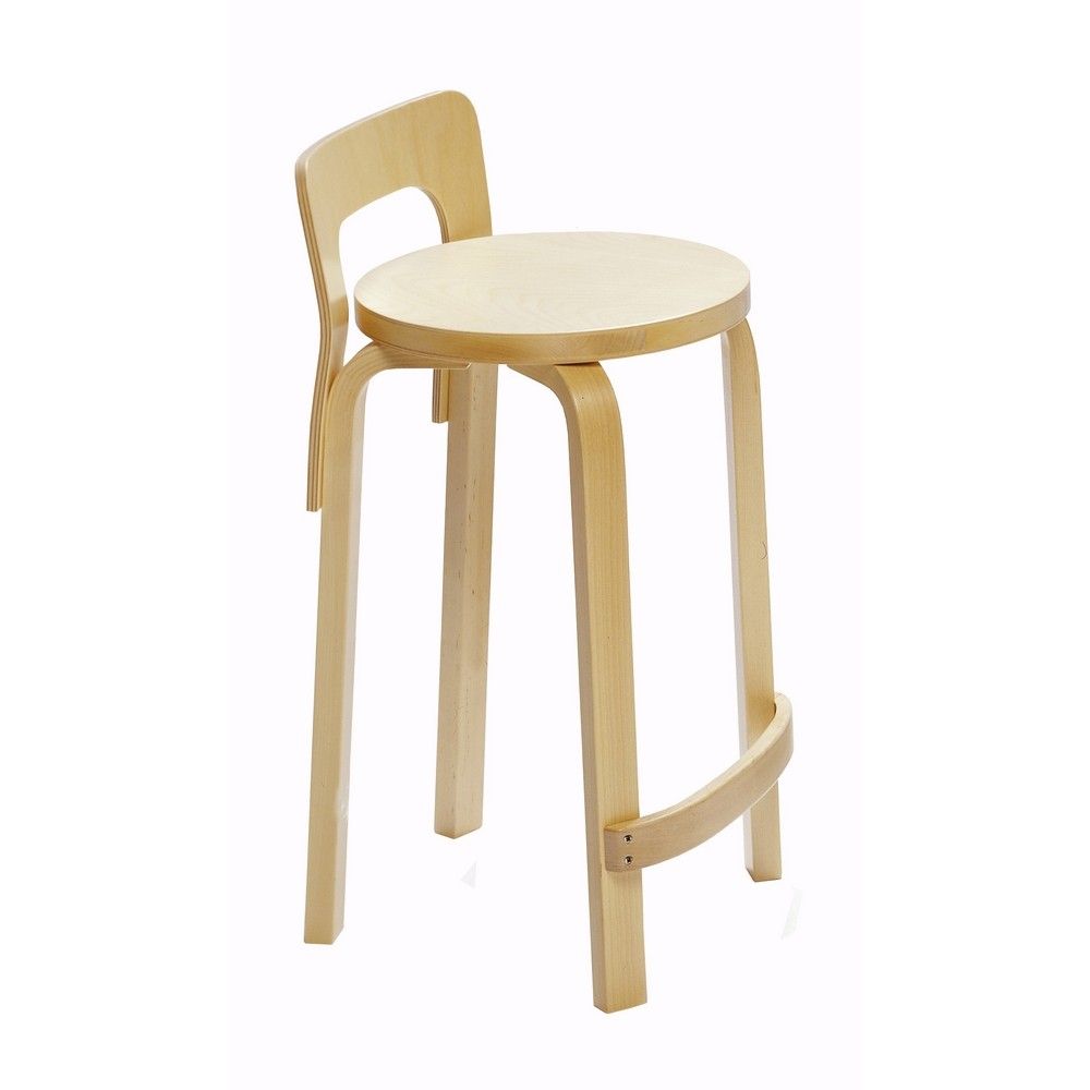 K65 High Stool Alvar Aalto Design For Artek La Boutique Danoise