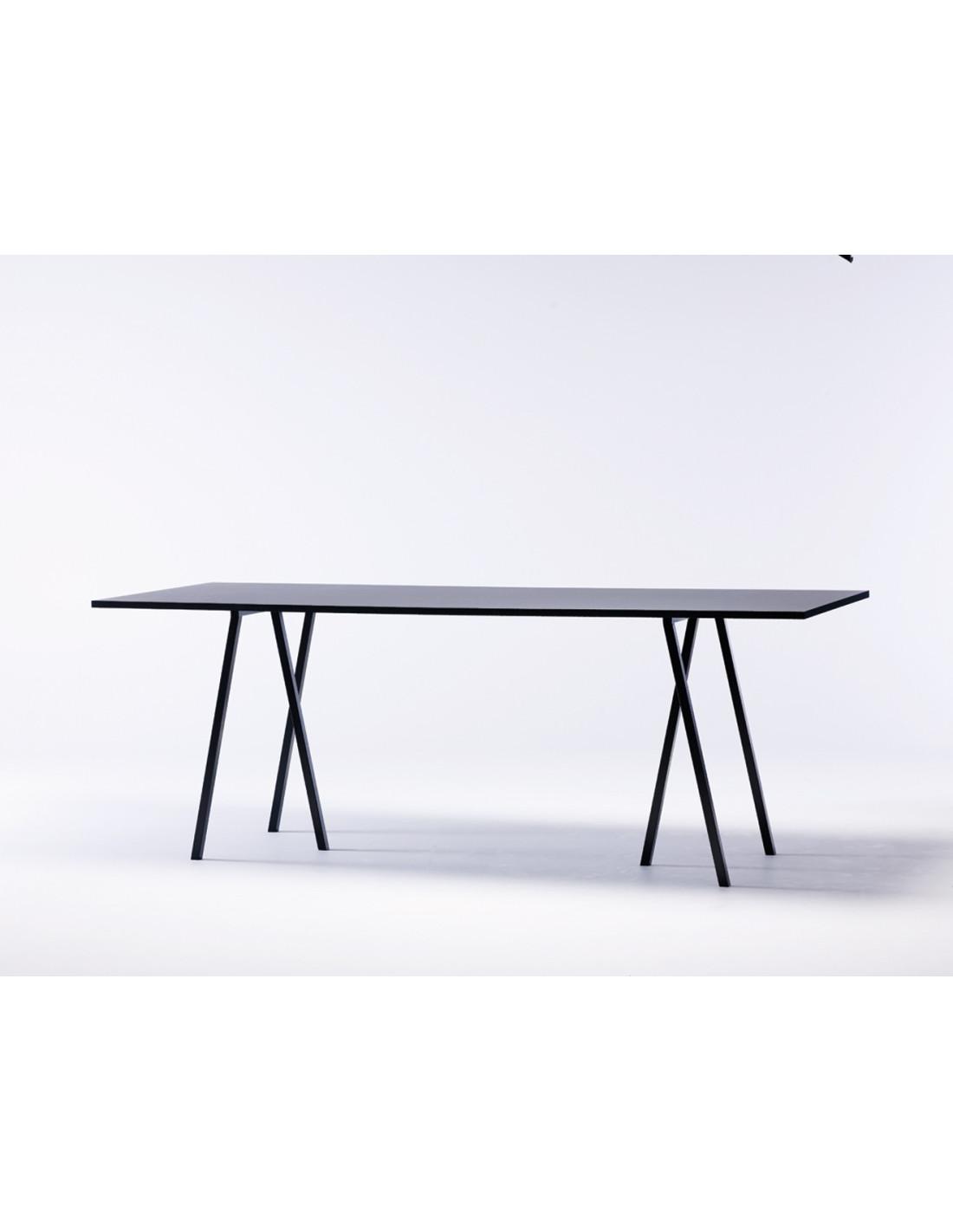 loop stand table de leif jorgensen hay la boutique danoise. Black Bedroom Furniture Sets. Home Design Ideas
