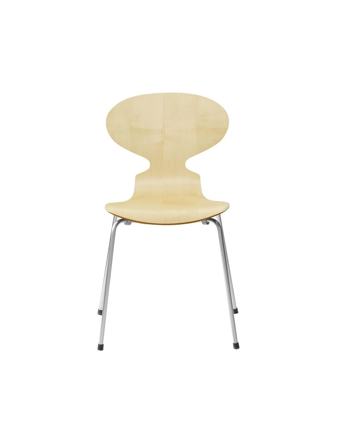 Chaise fourmi design arne jacobsen pour fritz hansen la boutique danoise - Chaise danoise design ...