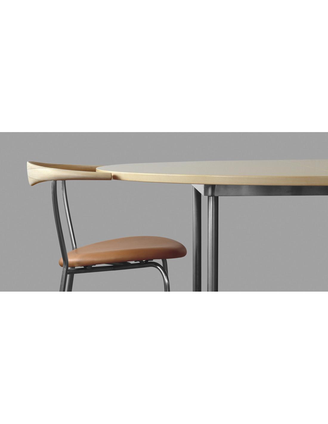 chaise oc an pp701 pp mobler hans j wegner la boutique danoise. Black Bedroom Furniture Sets. Home Design Ideas