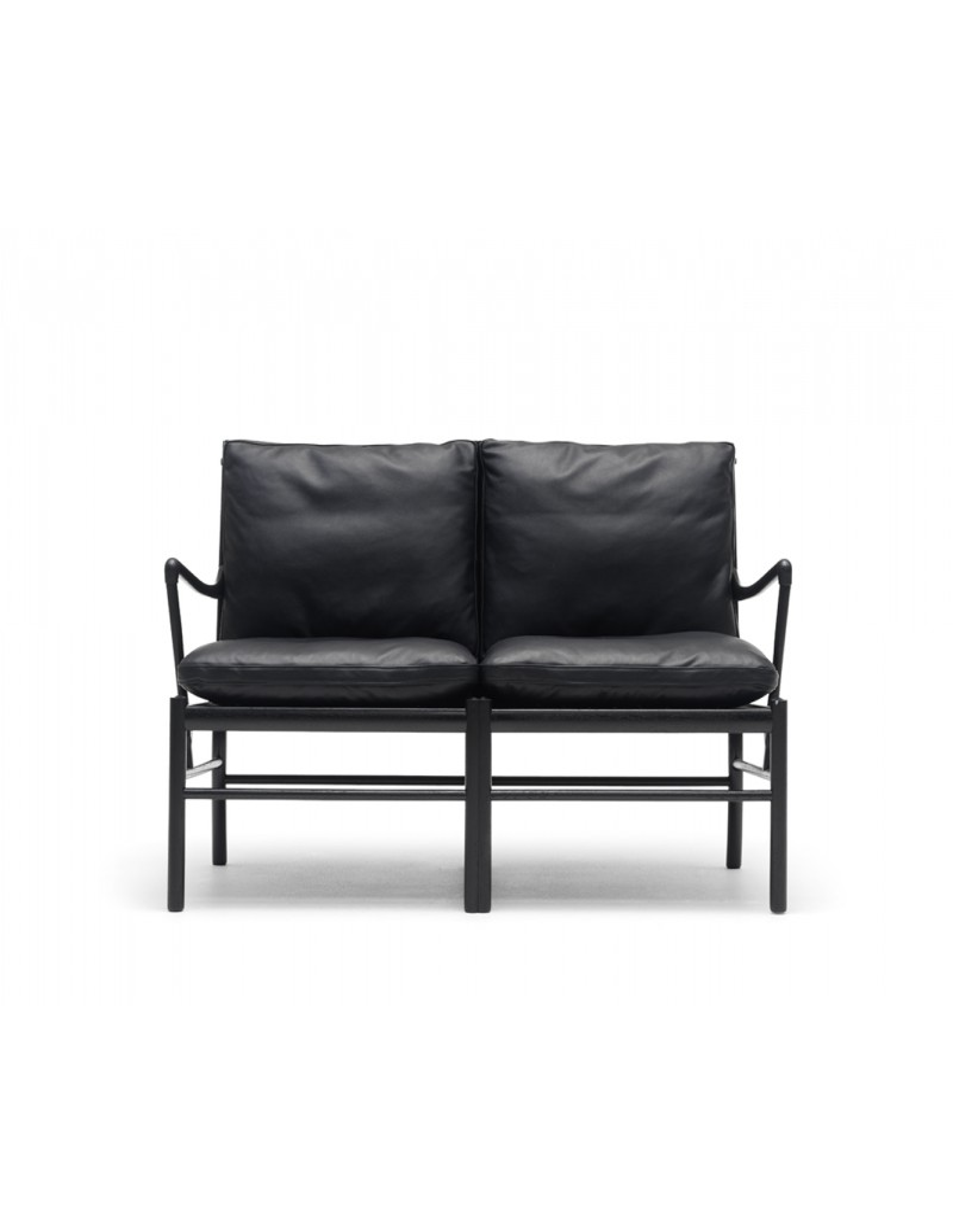 colonial sofa design ole wanscher for carl hansen scandinavian design. Black Bedroom Furniture Sets. Home Design Ideas