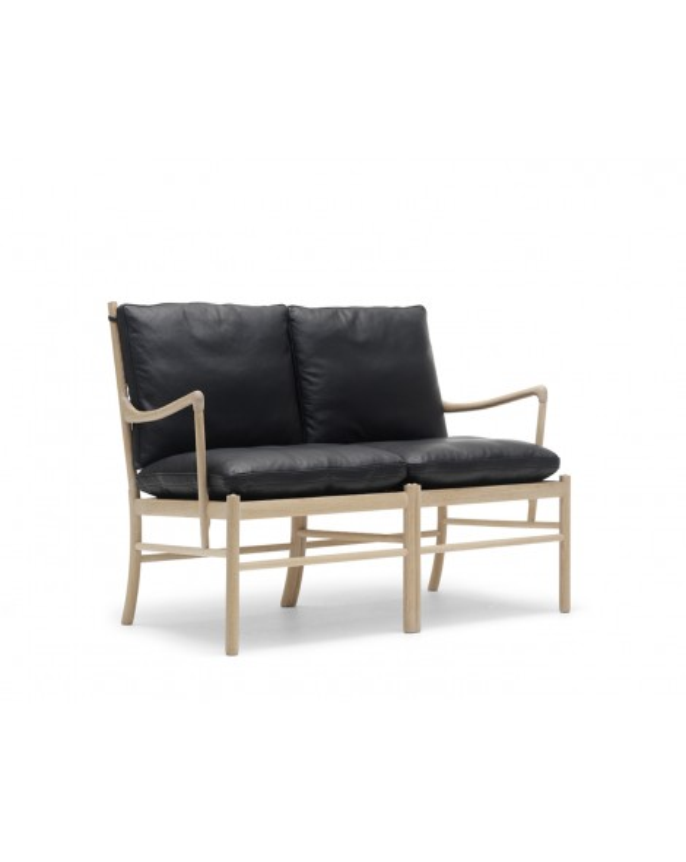 Canapé Colonial, Ole Wanscher pour Carl Hansen