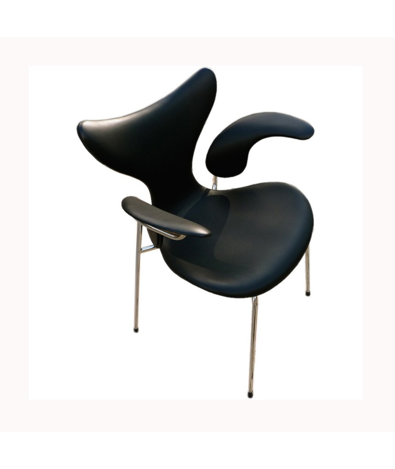 chaise de bureau lily de arne jacobsen fritz hansen la boutique danoise. Black Bedroom Furniture Sets. Home Design Ideas