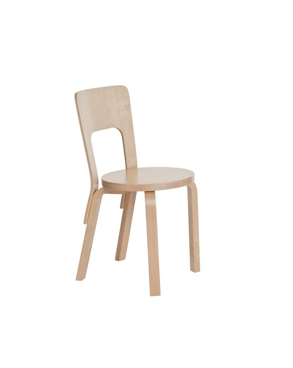 Chair 66 Alvar Aalto Design For Artek La Boutique Danoise