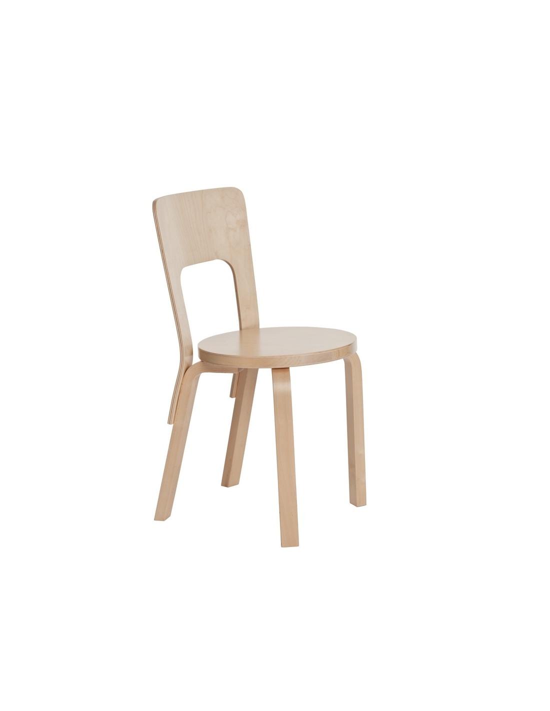 Chair 66 alvar aalto design for artek la boutique danoise for Alvar aalto chaise lounge
