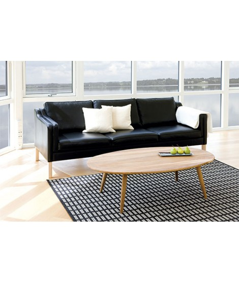 SYMPHONIE OVAL COFFEE TABLE IN OAK