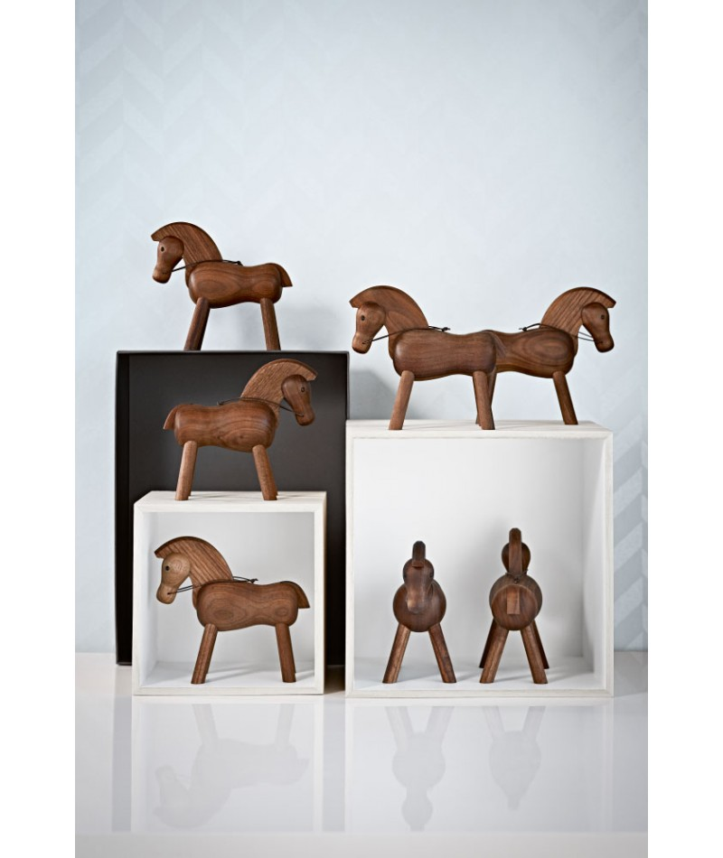 wooden horse by kay bojesen la boutique danoise. Black Bedroom Furniture Sets. Home Design Ideas