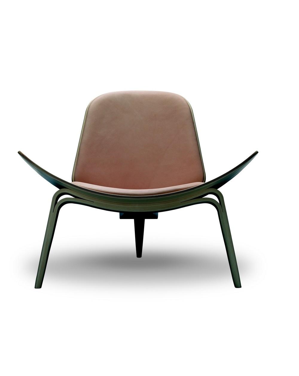 Fauteuil CH07 Tripede, design Hans J. Wegner pour Carl Hansen