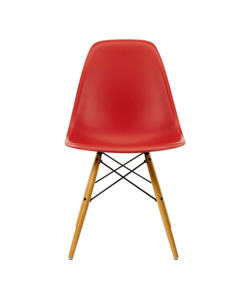 dcw plastic chair design charles ray eames for vitra