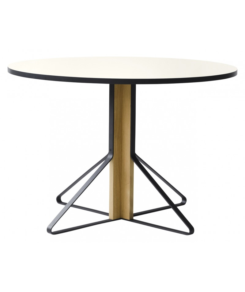 Table kaari design ronan and erwan bouroullec pour artek for Bonbon la table ronde