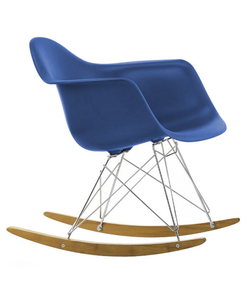 Chaise bascule rar charles eames for Chaise eames bascule