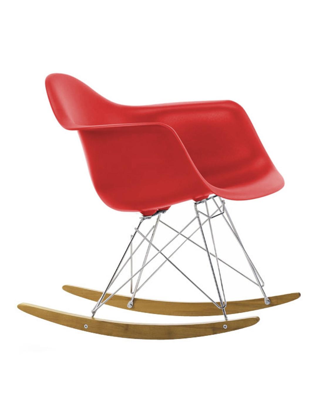 Chaise bascule rar charles ray eames vitra - Chaise design bascule ...