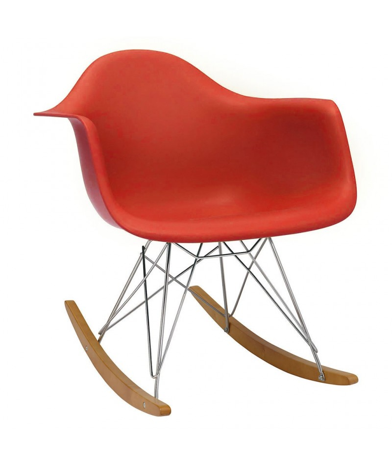Rar rocking chair charles ray eames vitra - Rocking chair vitra ...