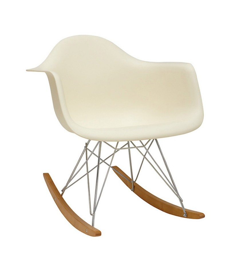 Chaise bascule rar charles ray eames vitra for Chaise bascule eames rar