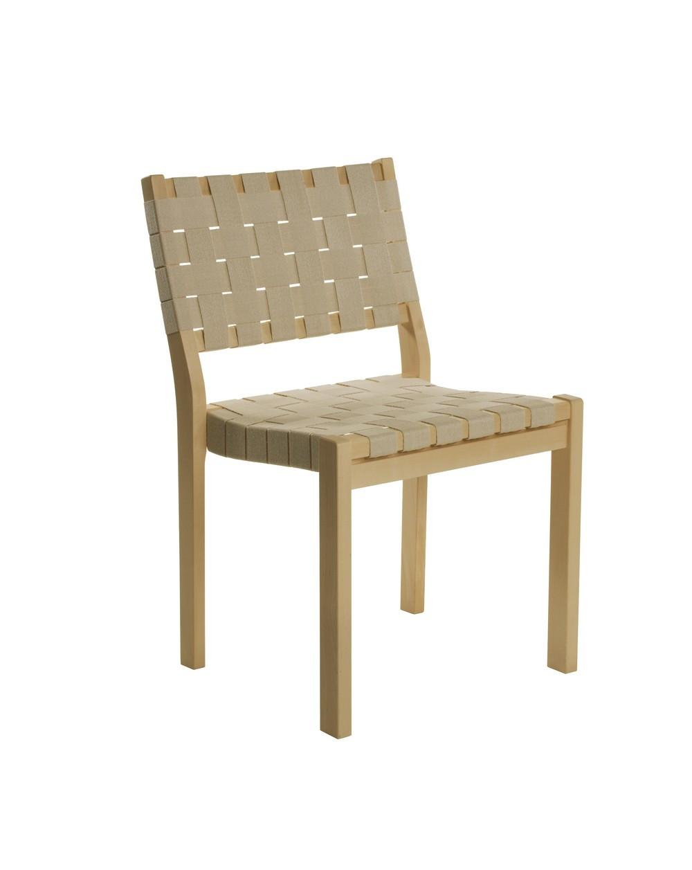 Chair 611 alvar aalto design for artek la boutique danoise for Chaise alvar aalto