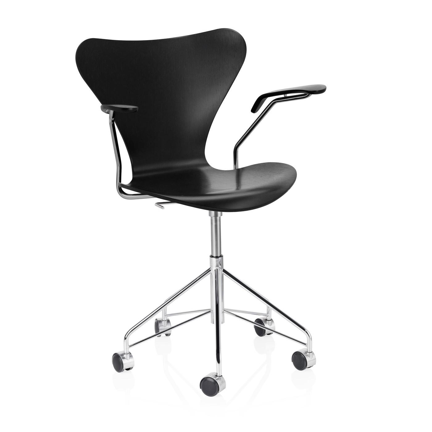 Series 7 office chair by Arne Jacobsen Fritz Hansen La boutique