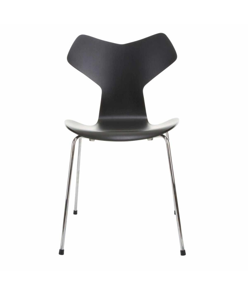 chair grand prix chromed arne jacobsen fritz hansen. Black Bedroom Furniture Sets. Home Design Ideas