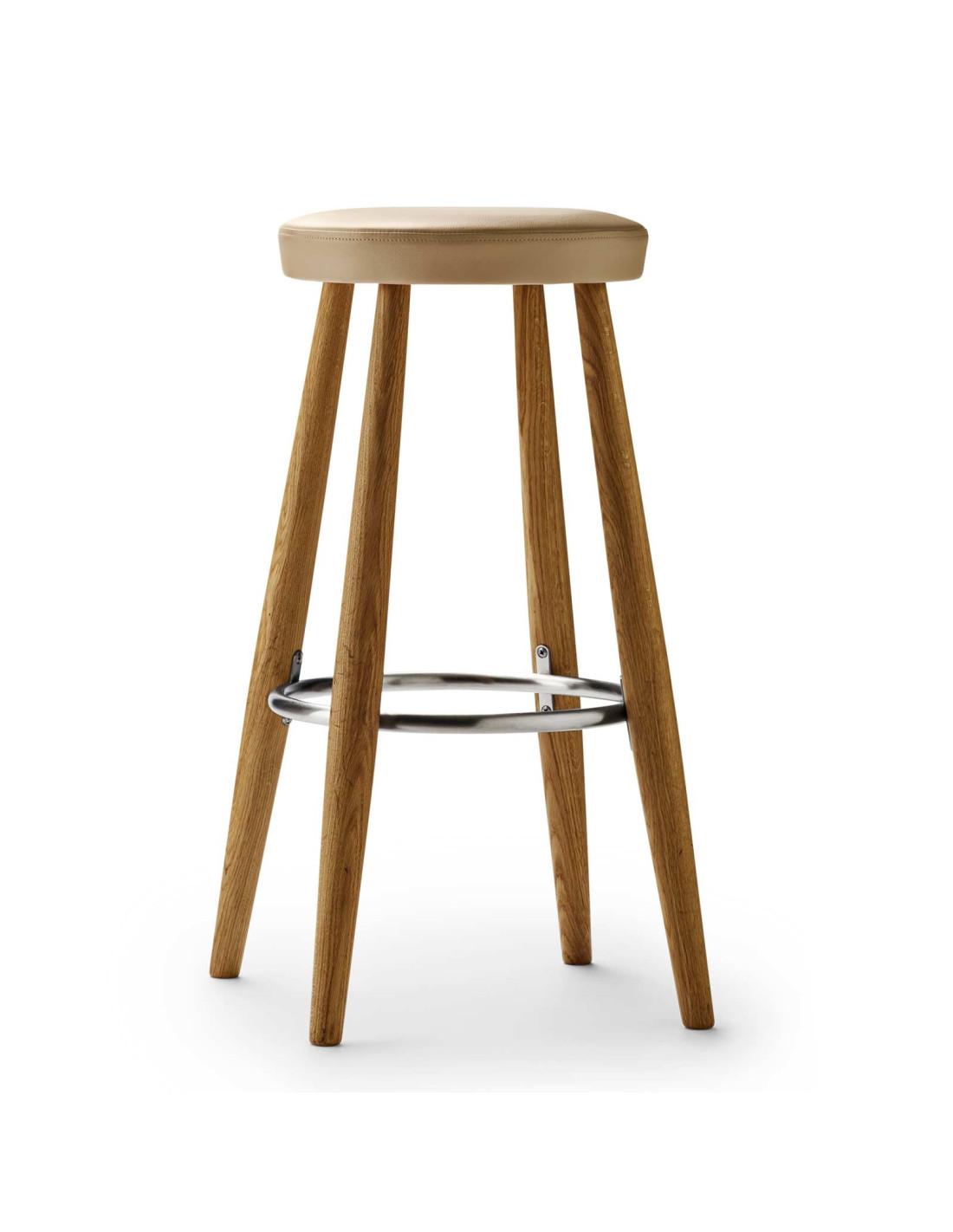 Ch56 Bar Stool Hans J Wegner Design For Carl Hansen La