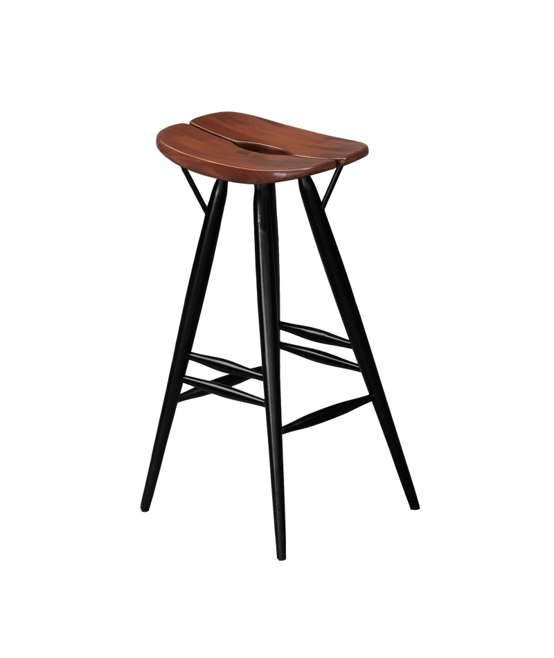 tabouret de bar pirkka design ilmari tapiovaara pour artek la boutique danoise. Black Bedroom Furniture Sets. Home Design Ideas