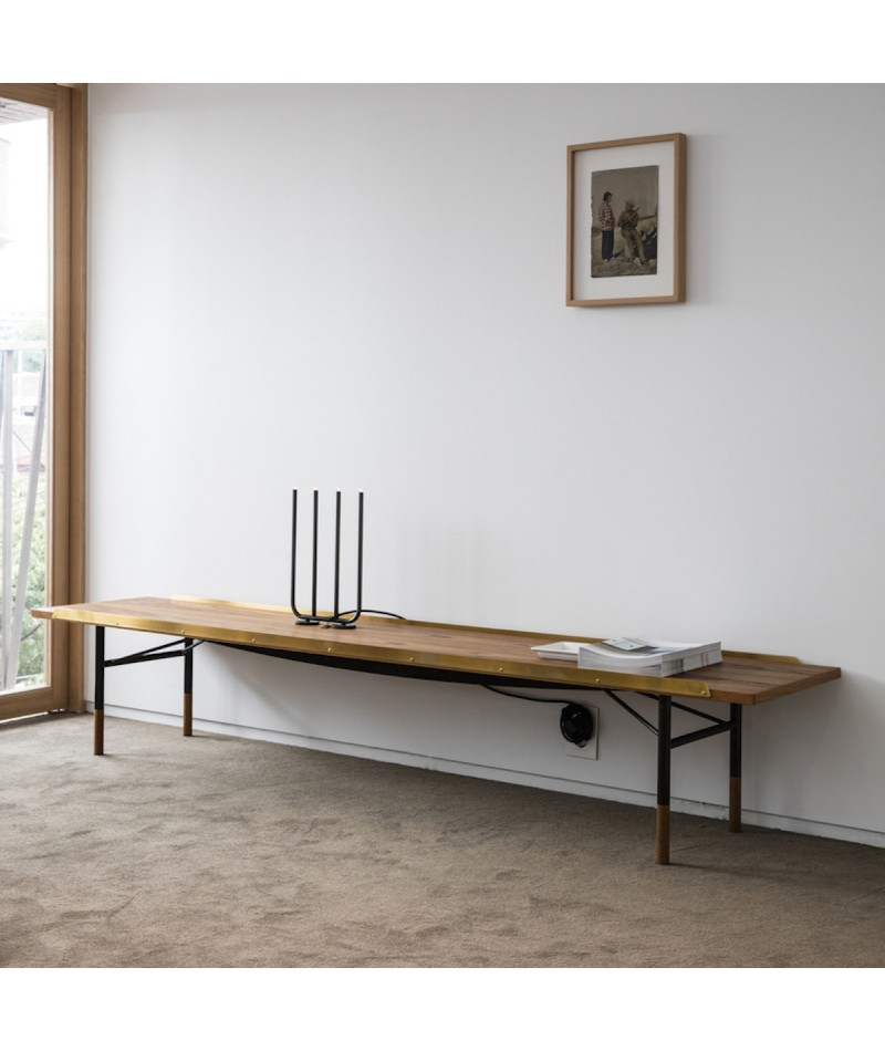 Remarkable Table Bench By Finn Juhl For House Of Finn Juhl Pabps2019 Chair Design Images Pabps2019Com