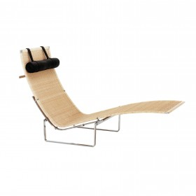 PK24 long chair, Poul Kjaerholm