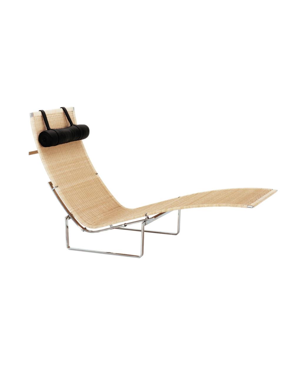 Chaise longue PK24, Poul Kjaerholm